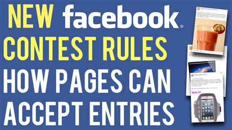 Giveaway Facebook Rules - facebook s new contest rules how business pages can collect entries andrew