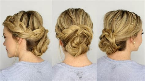 wedding hairstyles with braids youtube french plait wedding hairstyles french braid updo youtube 2017