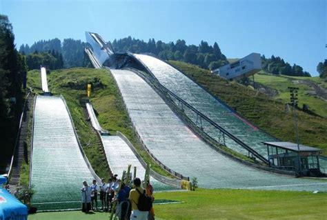 garmisch muss windnetz anbringen skisprungschanzen