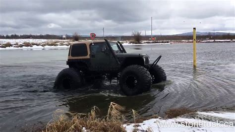 Floating Jeep
