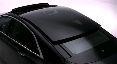 Glasdach Auto by 2013 Lincoln Mkz Sliding Glass Roof Revealed