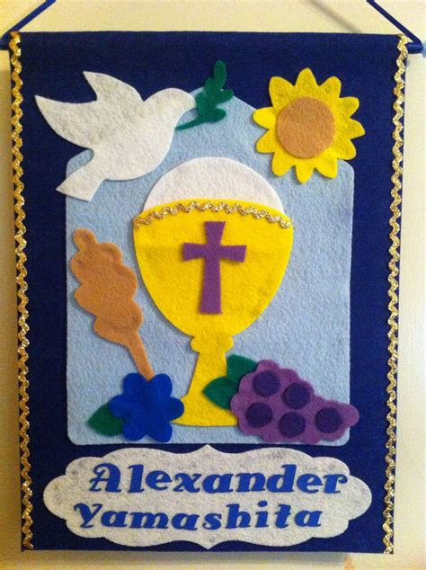 25 best first communion banner ideas images on pinterest