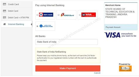 sbi credit card payment from other bank sbi credit card payment billdesk infocard co