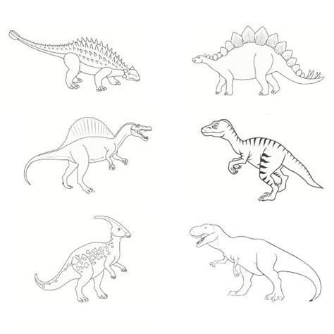 Coloriage Dinosaures 224 Imprimer