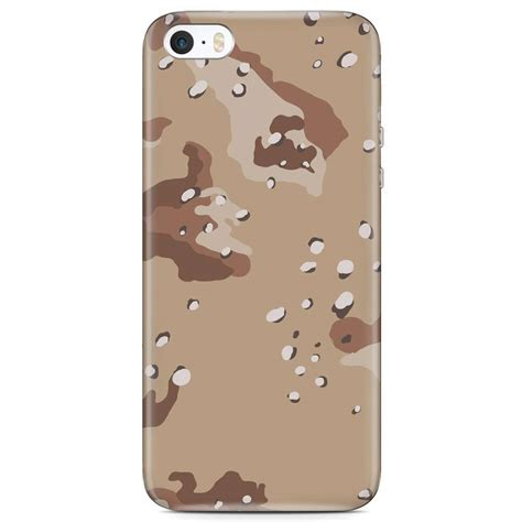 Army Iphone 5 5s iphone 5 5s se hoesje army desert camouflage