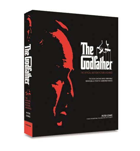 the motion picture book book roundup the godfather the official motion