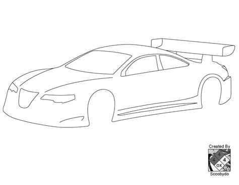 template for a car blank templates for designing on paper r c tech forums