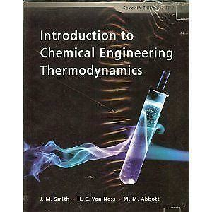 introduction  chemical engineering thermodynamics ebay
