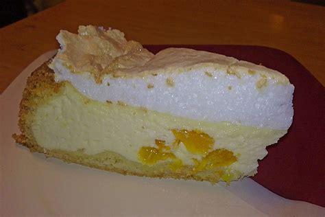 kalorienarmer kuchen mit quark mandarinen quark kuchen mit baiserhaube rezept mit