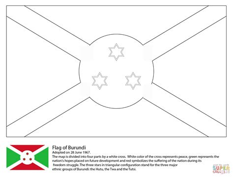 free coloring pages of flag of ghana flag of burundi coloring page free printable coloring pages