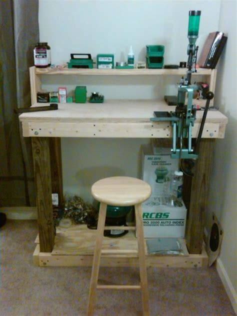 building a reloading bench bench plans benches and reloading bench plans on pinterest