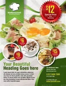 restaurant flyers templates restaurant flyer 20 in vector eps psd