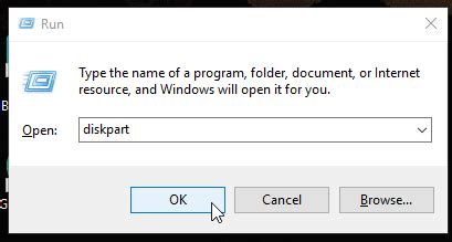 diskpart format unallocated space how to recover unallocated space on usb flash drive