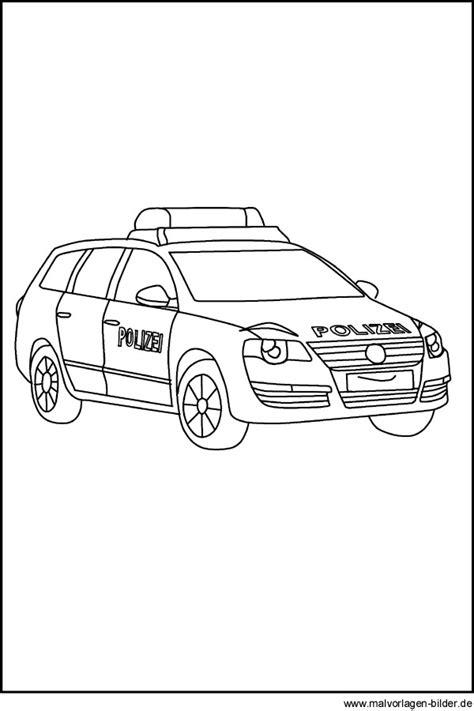 Polizeiauto Zum Malen by Polizeiauto Gratis Ausmalbilder Und Malvorlagen