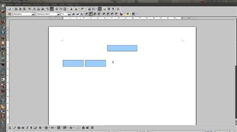 comment faire un organigramme avec open office impress libre office writer un organigramme simple