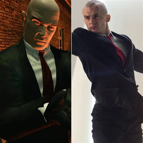 photo collection video game agent 47