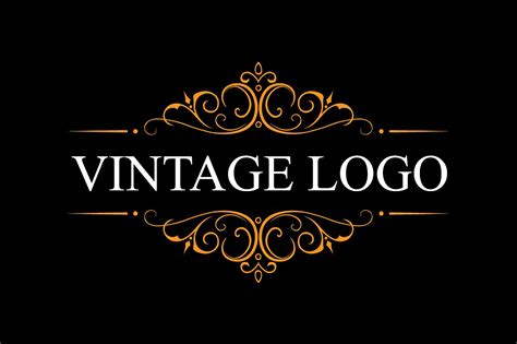 vintage logo template vintage logo logo templates creative market