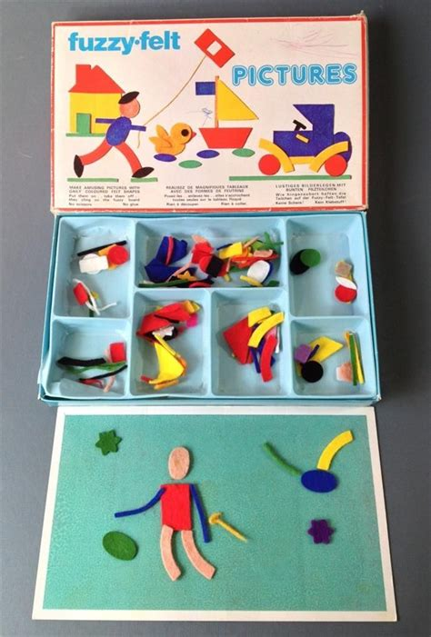 tournament and the proper equipment classic reprint books vintage retro 60s fuzzy felt pictures made in
