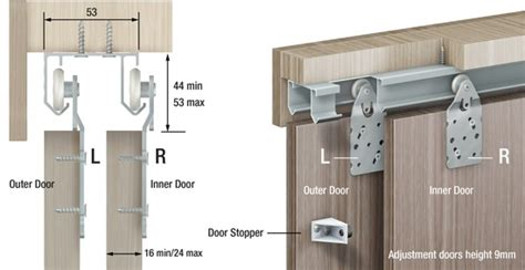 Sliding Wardrobe Door Tracks And Runners by Trakkit 174 Gemini Track Wardrobe Sliding Door Kit