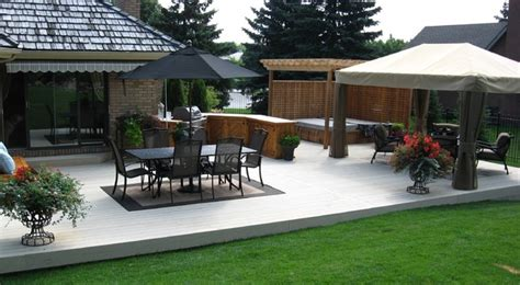 Composite Patio by Composite Decking P V C Decking Traditional Patio