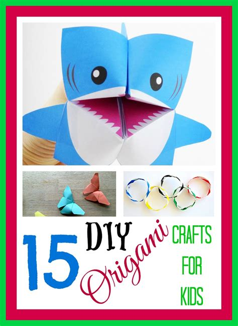 15 great diy origami crafts for