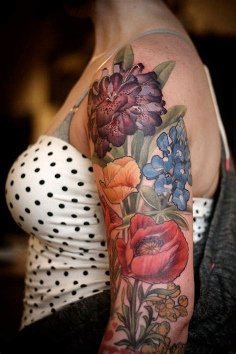 tattoo flower half sleeves 88 best flower tattoos on the internet amazingly beautiful
