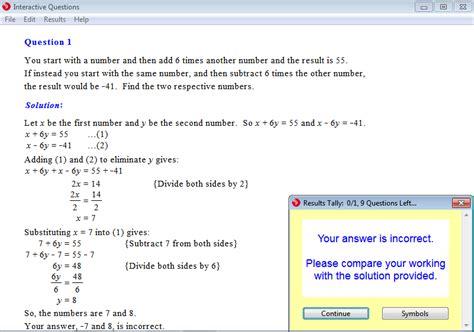 math problem solving questions