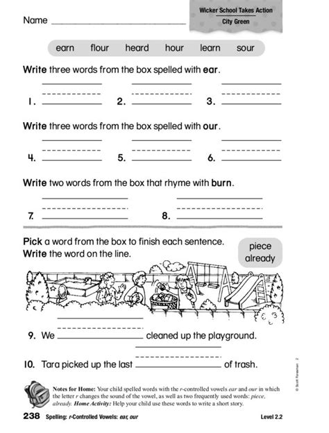 R Controlled Worksheets by R Controlled Vowel Worksheet Free Worksheets Library