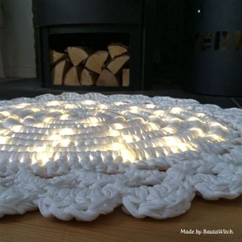 crochet light rug crochet rug with light tutorial i want to