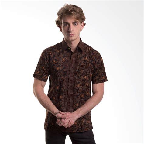 Katun Kupu Kupu jual batik trusmi hem katun tulis motif kupu coklat baju