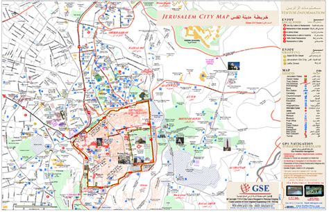 maps of jerusalem maps update 1200842 jerusalem tourist map 15 toprated
