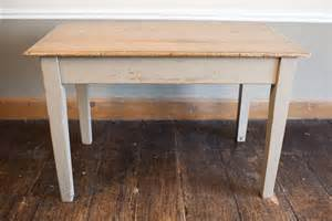 Solid Oak Kitchen Tables Solid Oak Painted Kitchen Table Antiques Atlas