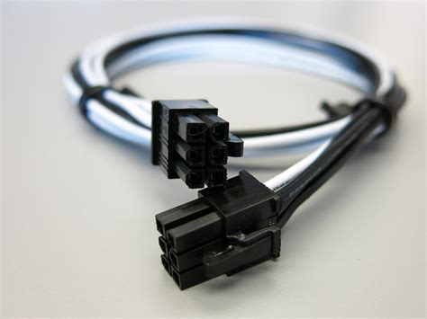 6 Pin Cable Connector by 24 Inch 16awg 6 Pin To 6 Pin Pcie Power Cable