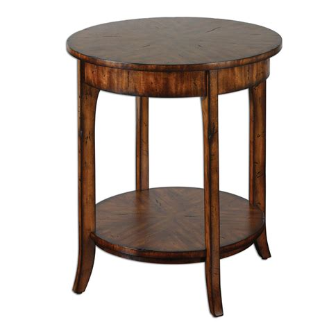 small round accent table uttermost 24228 carmel round small round accent table