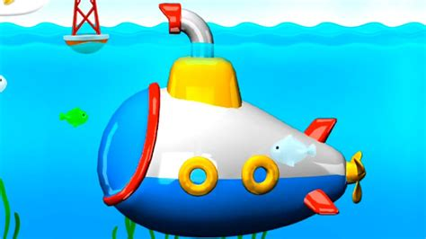submarine assembly app demo puzzle  kids build play iphone ipad