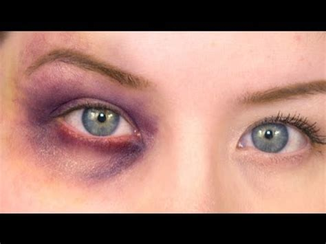M O B Cosmetic Bruised fx makeup series black eye fx makeup