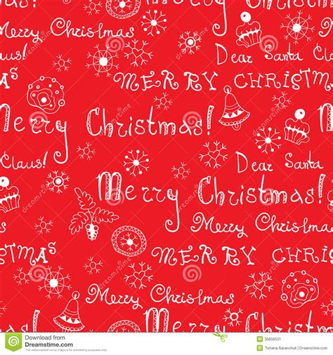 christmas pattern word vector christmas words in text seamless pattern stock