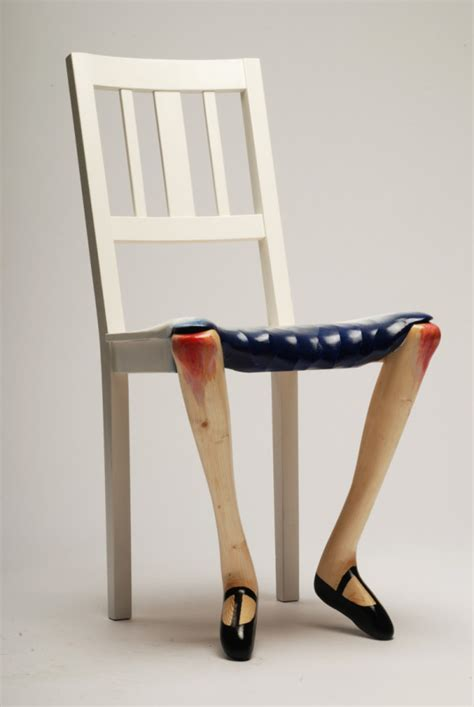 Artist Chair by Sculptural Chairs Inspired By By Benjamin Nordsmark