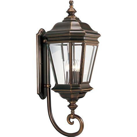 outdoor oil ls lanterns hton bay 180 degree oil rubbed bronze motion sensing