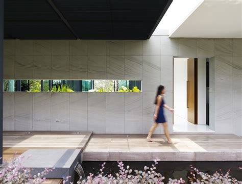 Zen Home Design Singapore Relaxing Zen House Promoting Social Interaction In