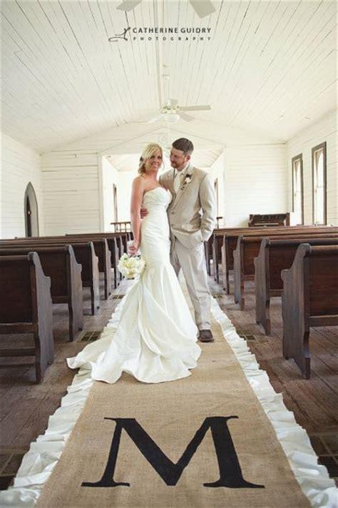 Wedding Aisle Runner Joann by Church Decor Diy Weddingbee