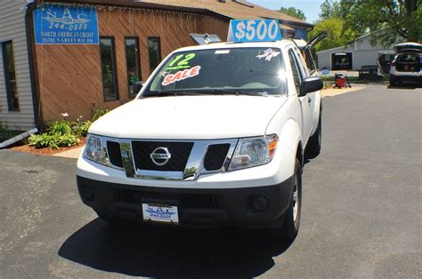 nissan white truck 2012 nissan frontier white ext cab truck
