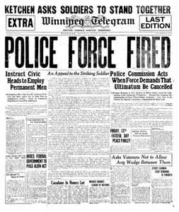 Winnipeg General Strike 1919 Essay by Canada Today In Labor History