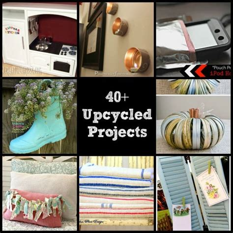 Upcycled  Recycled Crafts  Diy Projects