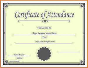 Certification Letter Attendance Sample perfect attendance certificate certificatestreet sc 735 jpeg