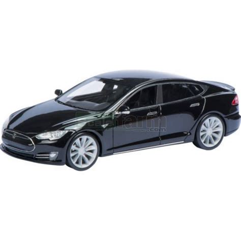 Tesla Scale Schuco 08971 Tesla Model S Black