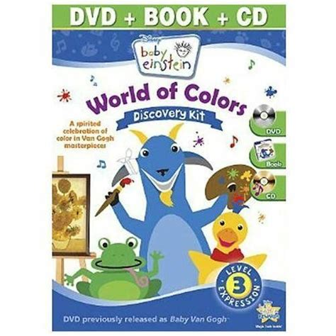 baby einstein colors baby einstein world of colors by baby einstein cd 2010