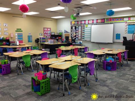 classroom layout ideas for second grade i love this cute and bright second grade classrooms love
