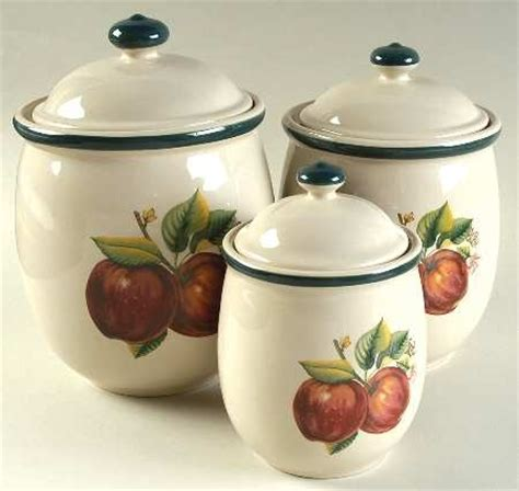 apple canisters for the kitchen 123 best ceramic canister sets images on