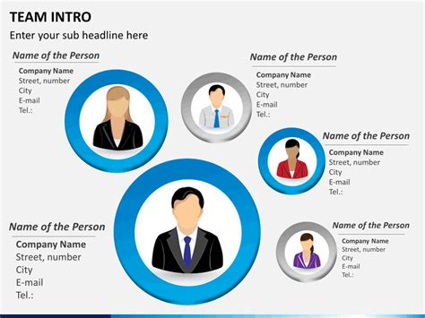 Team Introduction Powerpoint Template Sketchbubble Team Introduction Ppt Template Free